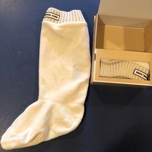 NEW tall boot socks Micheal Kors
